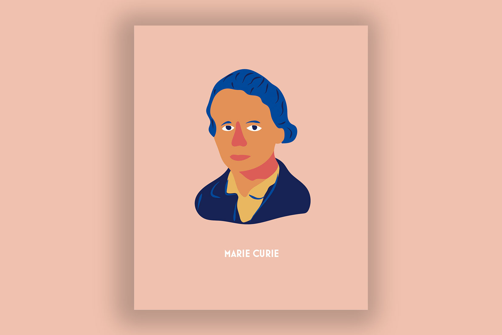 mujeres influyentes - Marie Curie